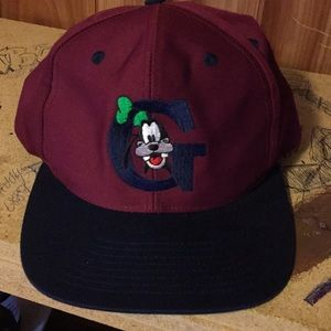 Goofy adjustable hat with embroidered logo